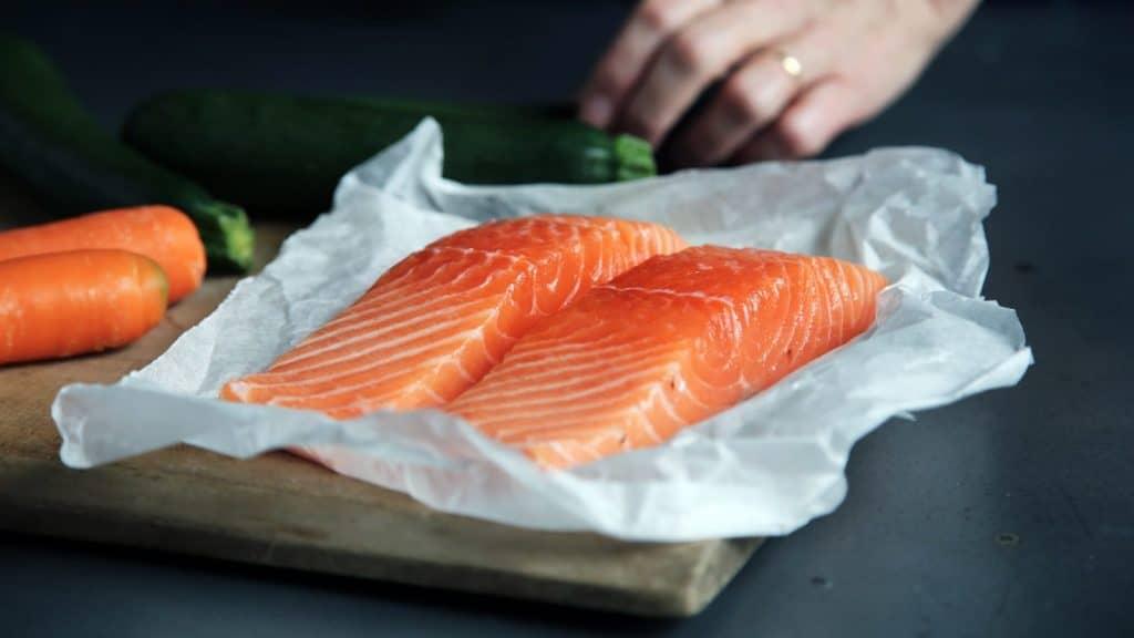 Salmón Sushi en SushiOlé