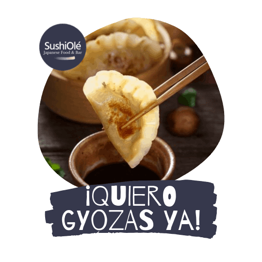 Gyozas de Pollo de SushiOlé Madrid