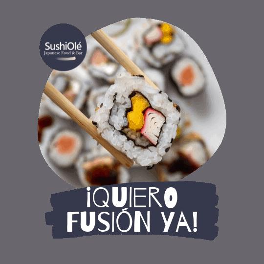 Menu Fusión de SushiOlé Madrid