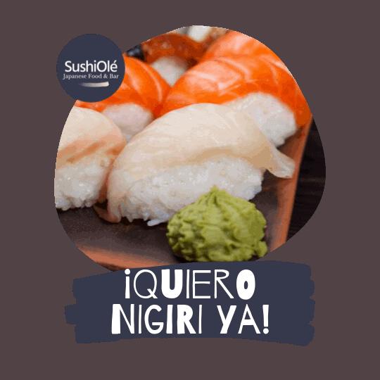 Nigiri de Pez Mantequilla de SushiOlé Madrid