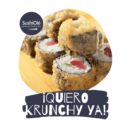 Krunchy Tempura de SushiOlé Madrid
