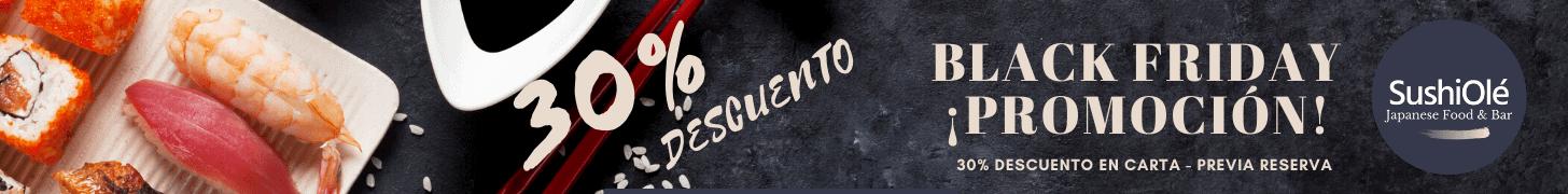 Black Friday Reservas 30% Descuento