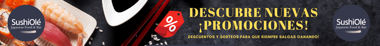 Promociones SushiOlé 2020 Madrid